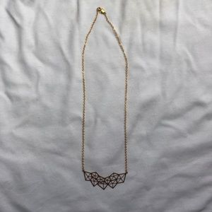 Jewelry - ⚡️ 3/$20 ⚡️ NWOT Geometric Gold Necklace